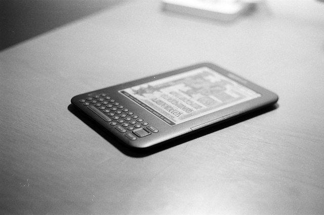 kindle, e-reader, e-book, publishing