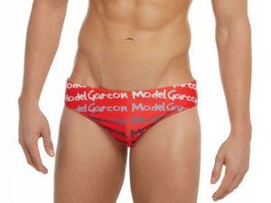 -49% Garcon Model Graffiti Swim Brief - Red $25.45(49% Off) $50.89