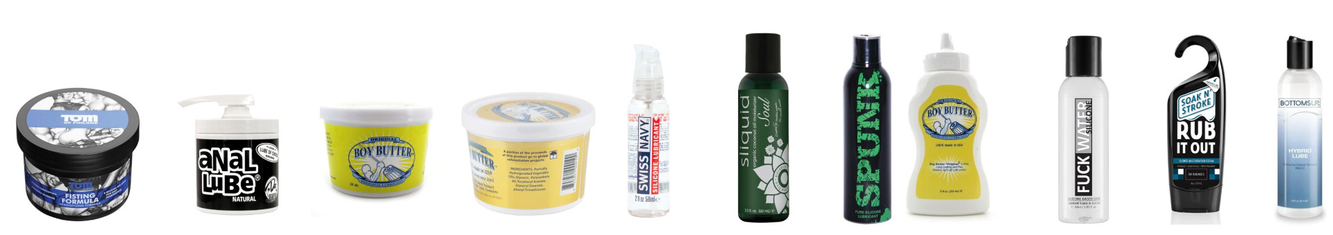 Oil-based lubes are popular because they last forever, offer a smooth ride, and are great for foreplay.