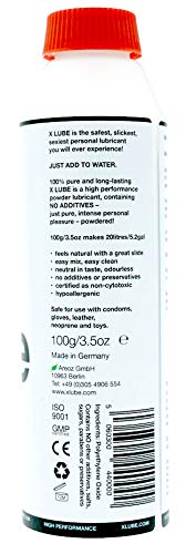 X Lube - Powder Lubricant Water-Based - Very economical