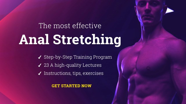 Anal Stretching online guide and course