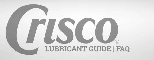 Crisco Lubricant Guide | Can I use Crisco as a lubricant?