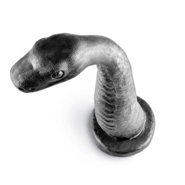 Sinnovator Serpent Platinum Silicone Dildo 10.5 Inches
