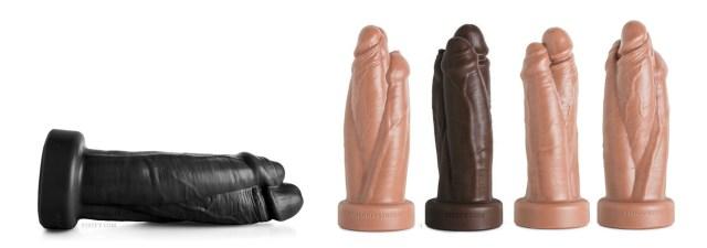 New Mr. Hankey's Toys Three Amigos dildo - Get three for one with the Three Amigos!