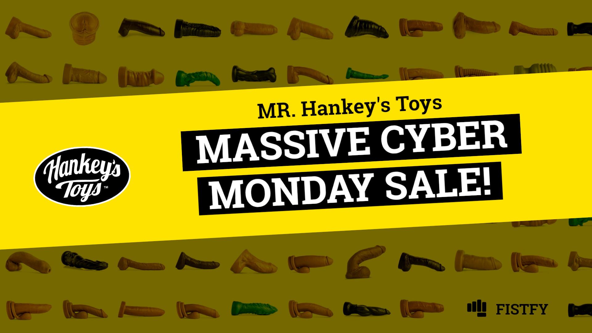 Mr. Hankey's Toys Cyber Monday sale
