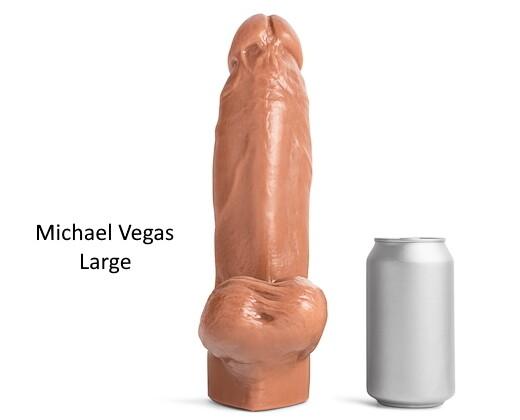 Mr. Hankeys Toys Michael Vegas dildo