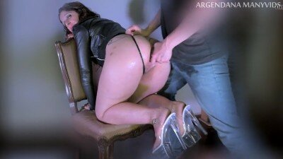 Anal Extreme with Argendana Being Fucked Deep with Huge Dildo