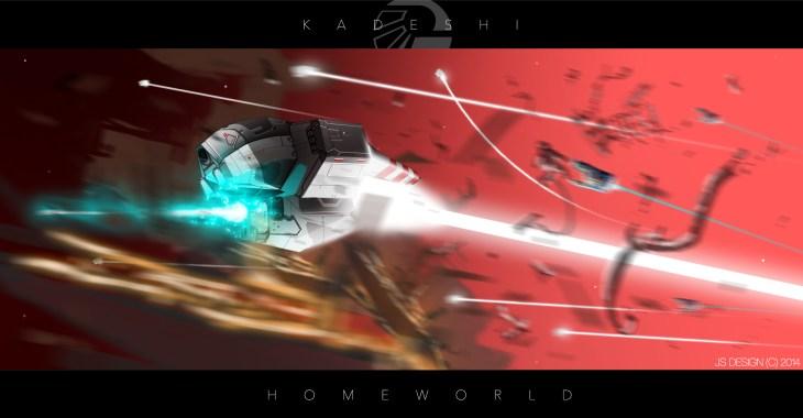 Homeworld Fan Art - FutureFavorite aka Julian Schlottmann- Kadeshi