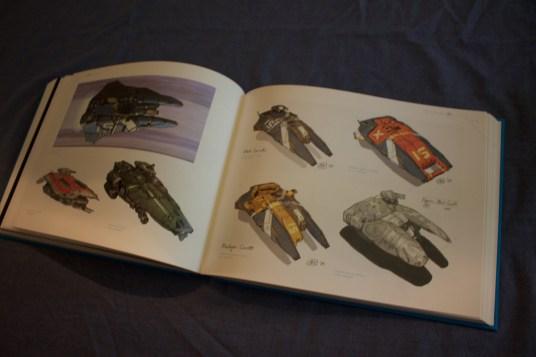 Artbook Hiigara Fleet assets