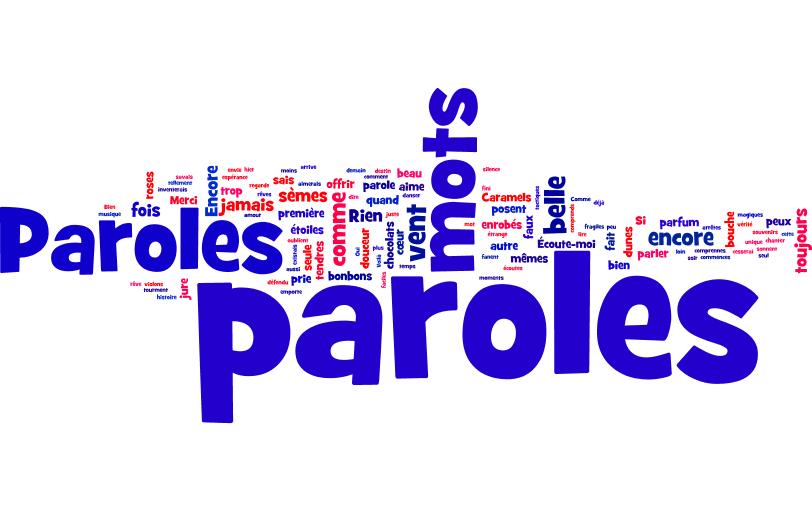 Paroles, paroles, czyli piosenka musi posiadać tekst