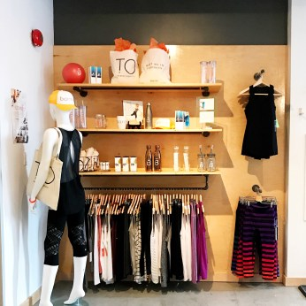 The retail boutique at King Street West