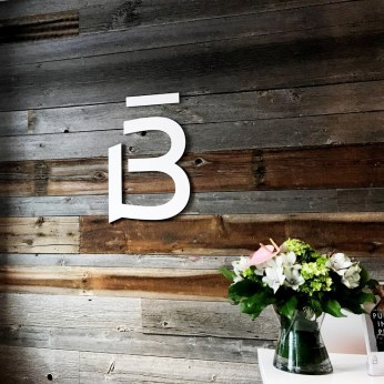Rustic and pretty vibes at Barre3's King West location