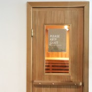 Infrared sauna - no go for preggo