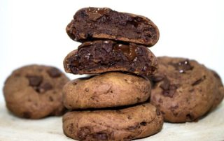 cookies brownie vegan