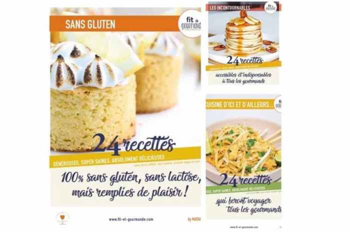 Pack e-Books Fit & Gourmande