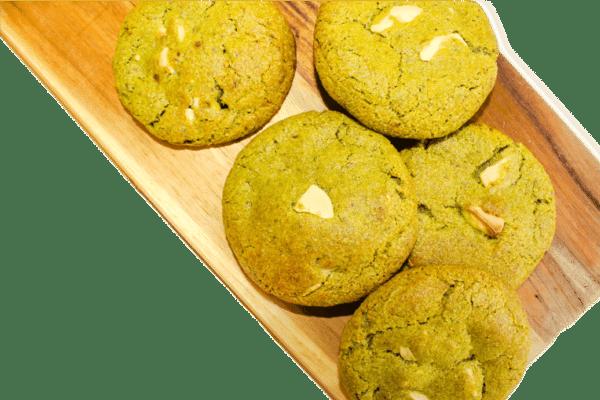 matcha cookies vegan