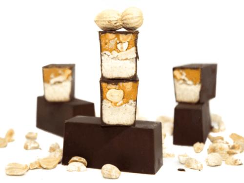 barres cacahuète vegan healthy