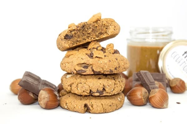 Cookies noisettes healthy