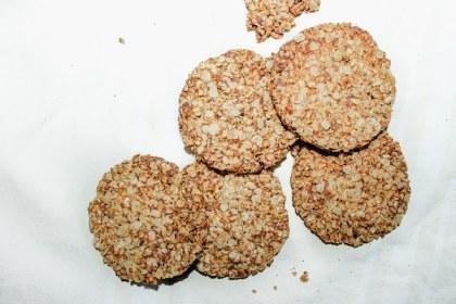 Biscuits croustillants vegan