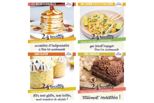 pack 4 ebooks fit et gourmande