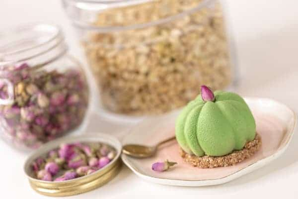 cheesecake matcha framboise vegan sans gluten