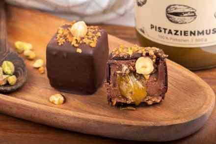 cube chocolat pistache healthy vegan sans gluten sans lactose