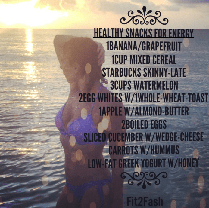 Healthy Snacks for Energy