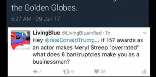 Meryl Streep -Donald Trump - Golden Globes 2017