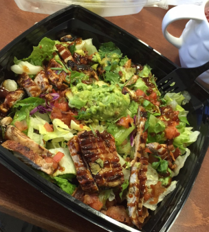 BBQ Chicken salad - Habit