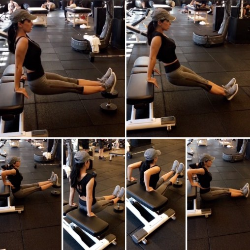 Bench/Chair Triceps - Toning Arms