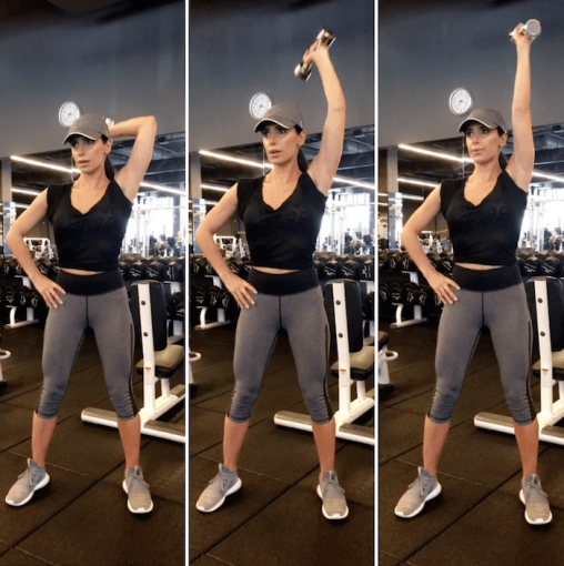 Dumbbell One Arm Triceps Extensions - Toning Arms
