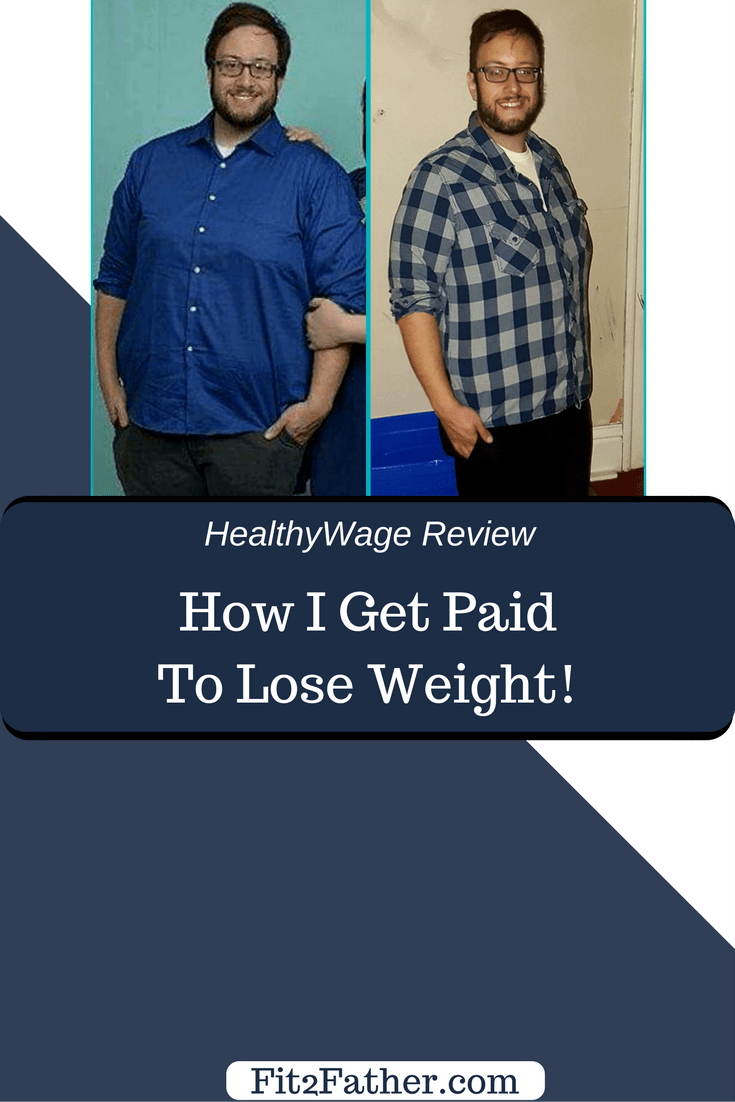 Get paid to lose weight, HealthyWage review, healthy wage, weight loss success story, make money online, weight loss motivation