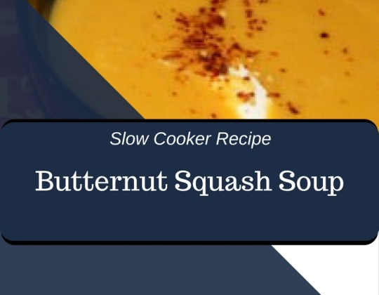 Butternut Squash soup, easy crockpot dinner, easy slowcooker dinner, low-carb soup, low carb dinner, low carb slow cooker