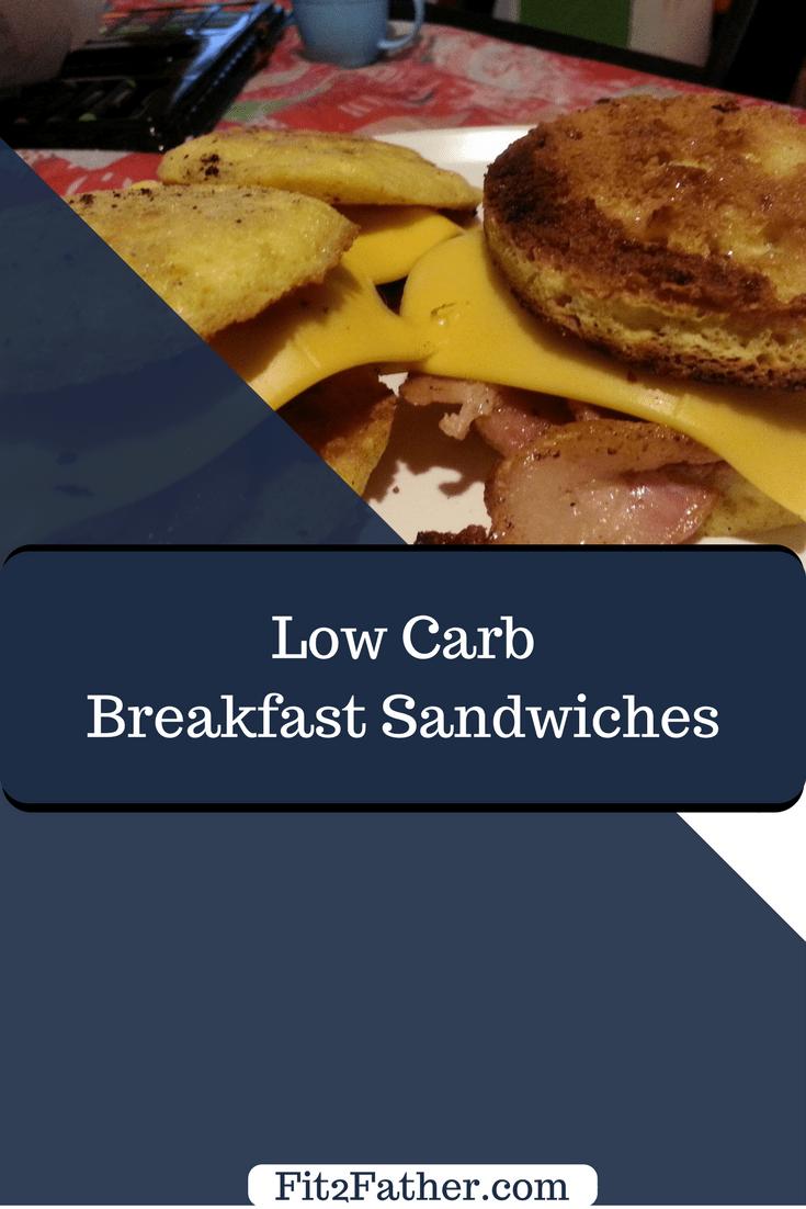 Low carb breakfast sandwich, keto sandwich recipe