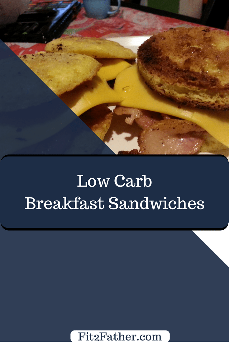 Low carb breakfast sandwich, keto sandwich recipe