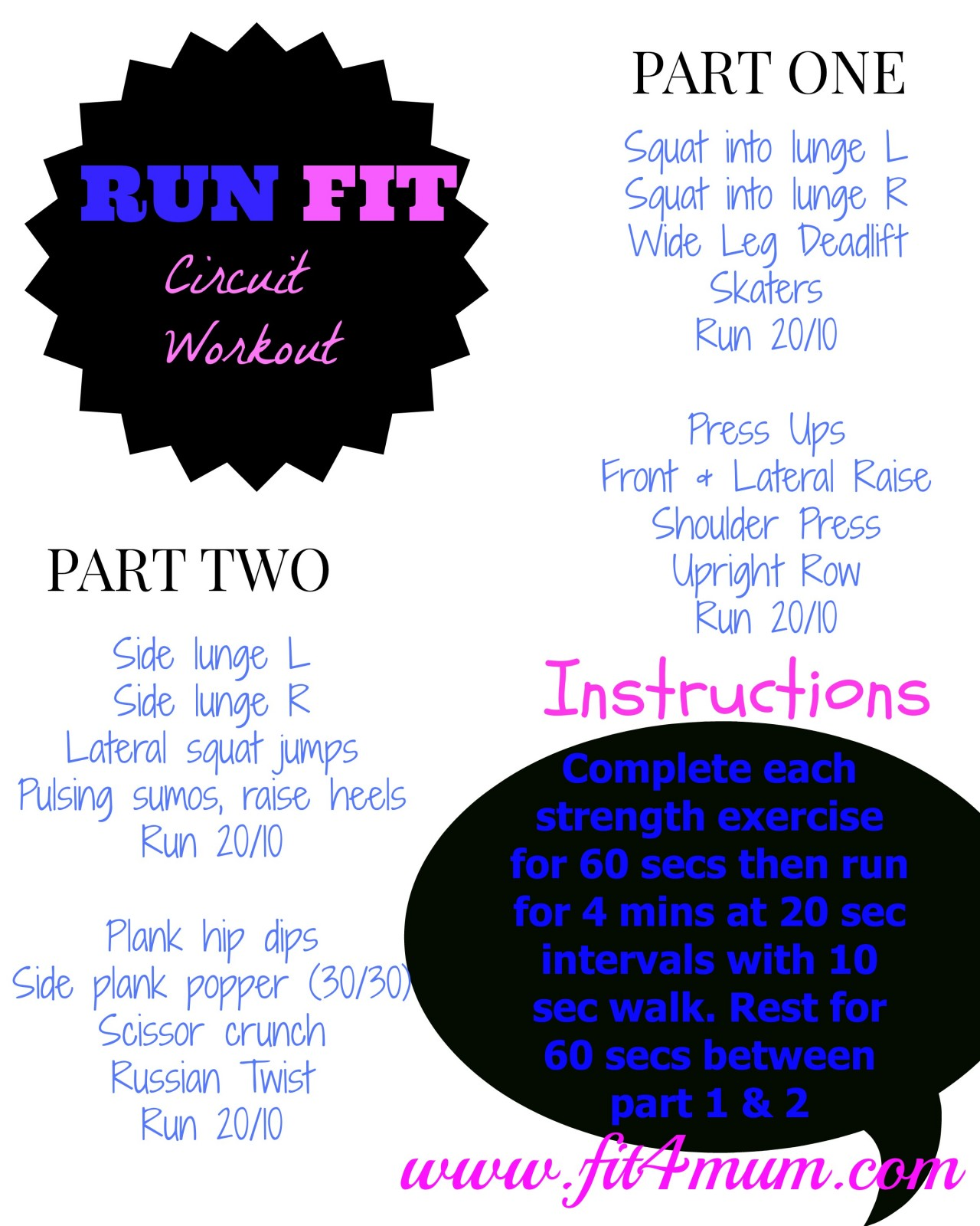 running fitness workout run fit circuit