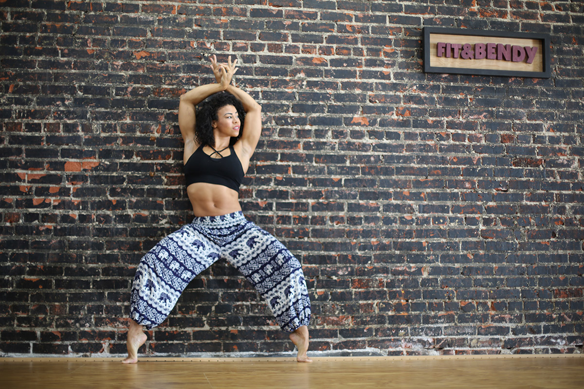 Fit and Bendy Positively Bendy Insights Keep Joy in Stretching Woman Dance Flexibility Fitness Studio