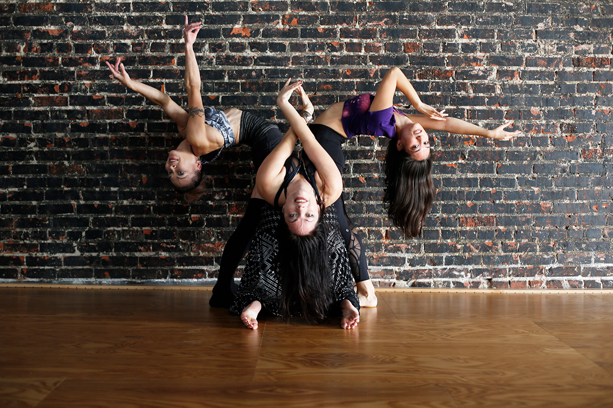 Fit and Bendy Tips Flexibility Fitness Three Women Contortion Stretching Studio