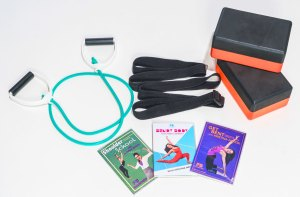 Fit and Bendy Starter Kit Tension Cord DVDs Shoulder School Get Bent Bendy Body Kristina Nekyia