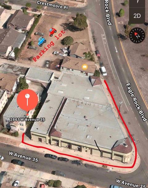 Fit & Bendy Parking Lot & Directions Map