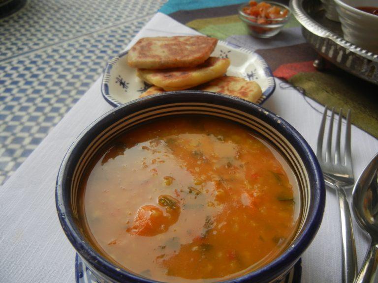 A Winter's Soup – Breakfast in Morocco