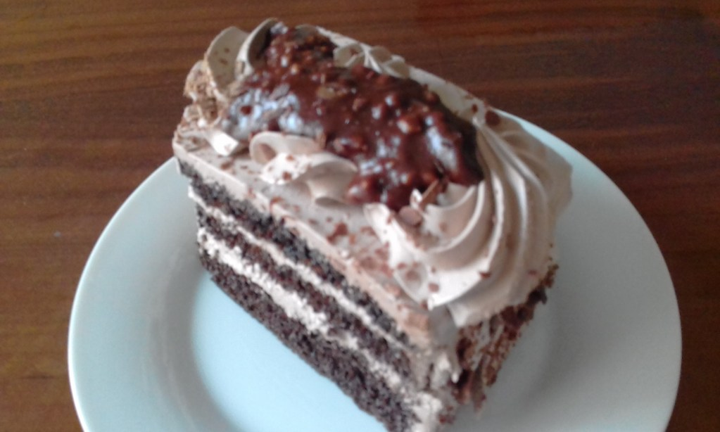 A 70 Km Ride Followed by Chocolate Cake
