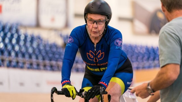 How This 80-Year-Old Great-Grandma Keeps Breaking World Records