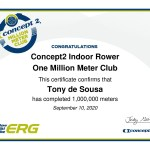 One Million Meters on an Indoor Rower 👌
