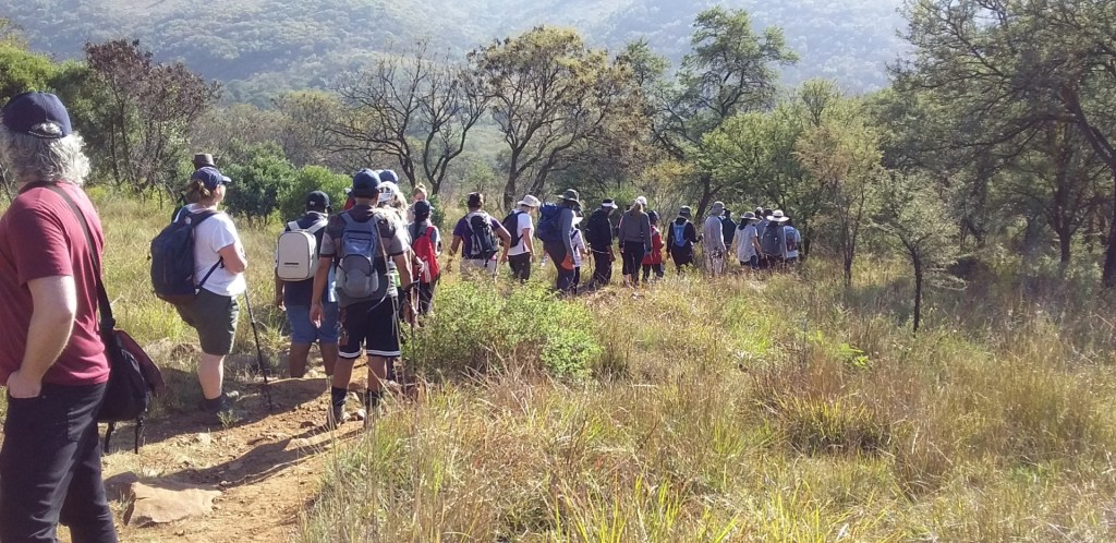 Photos of the Sunday Morning Hike and Walk Klipriviersberg Johannesburg – 4 April 2021