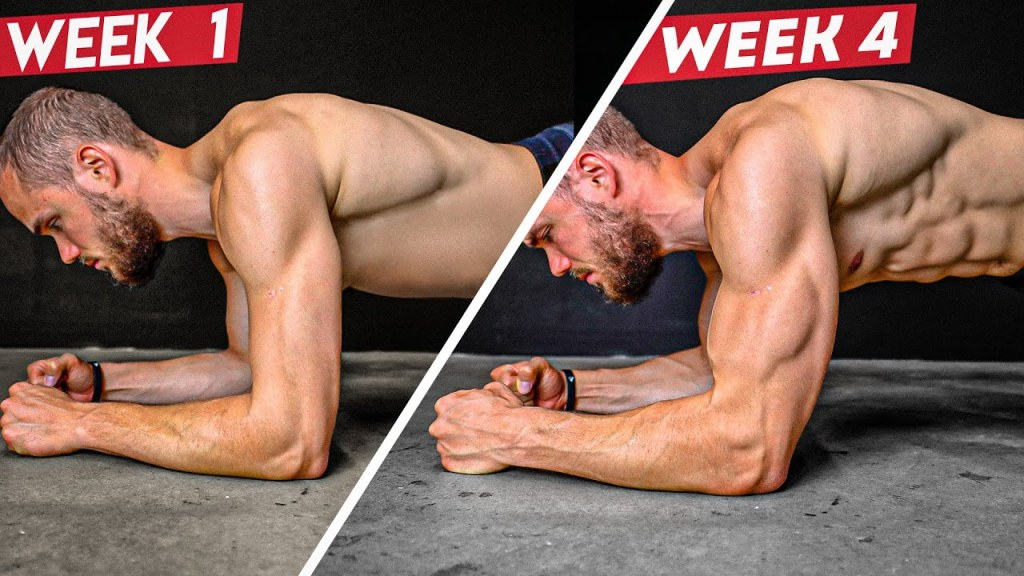 4 MIN Plank Challenge for 6 Pack Abs