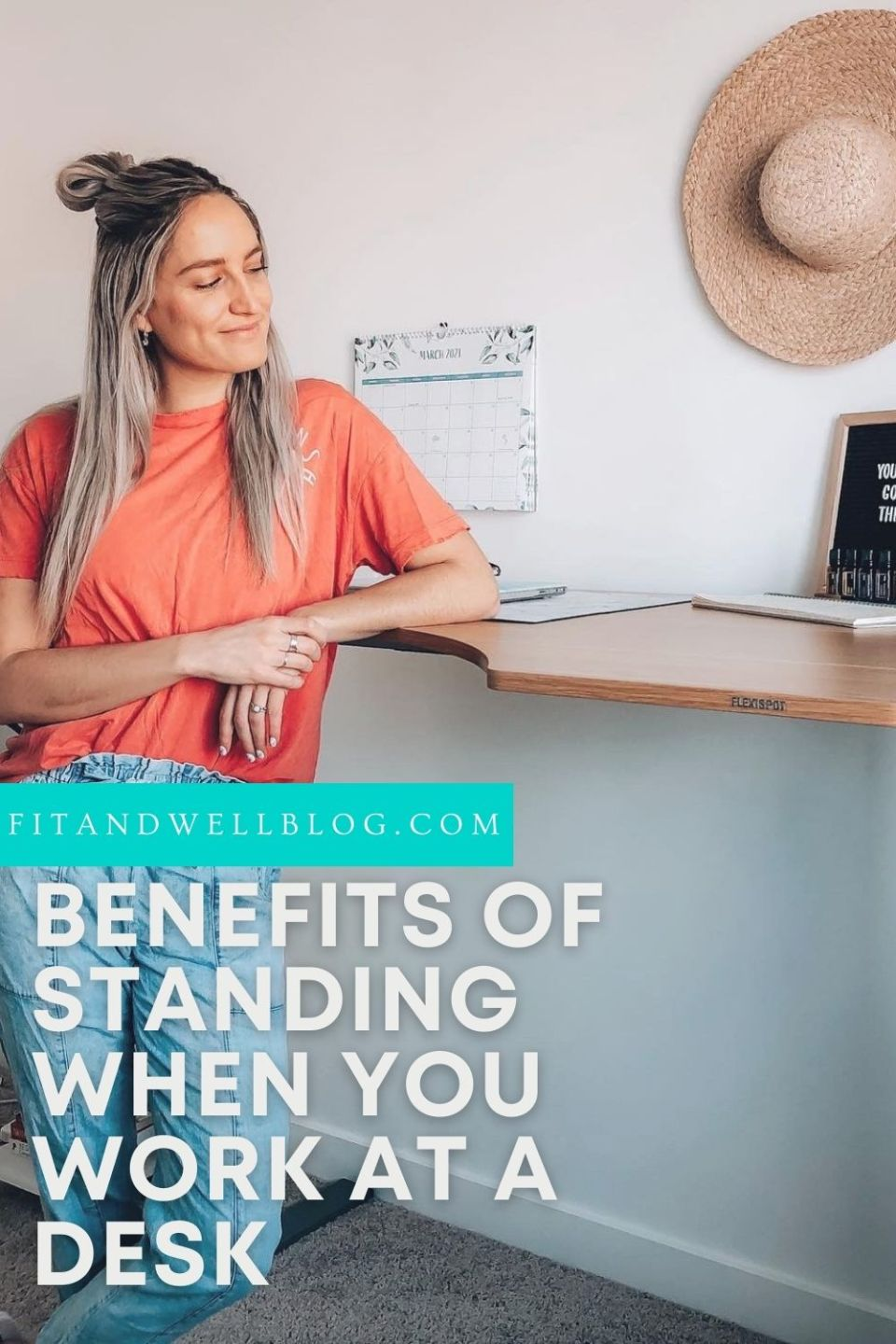 Why I Started Standing at Work - fitandwellblog.com