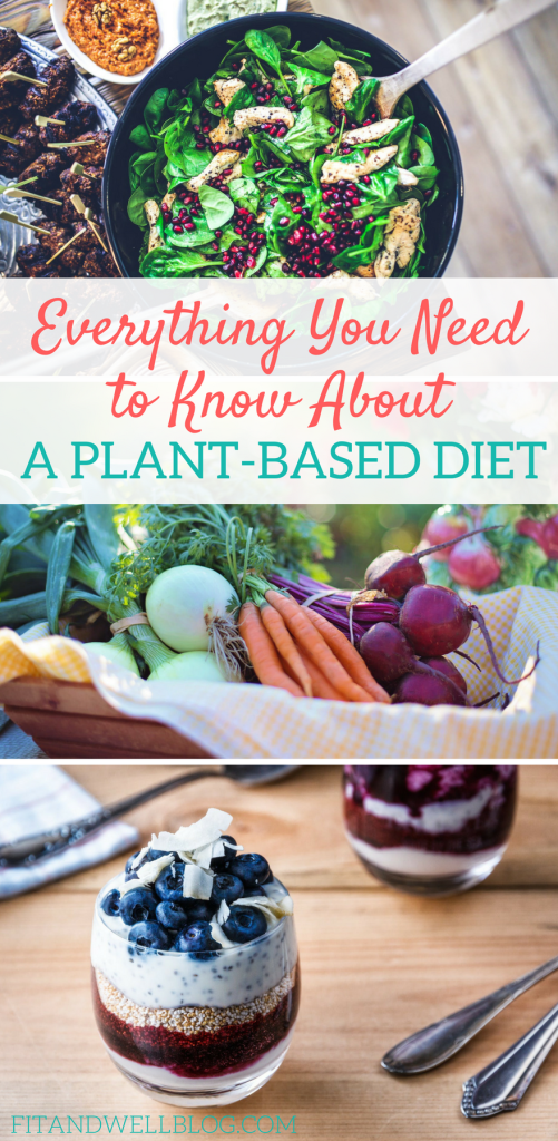 Everything you need to know about a plant based diet. #healthyliving #plantbased #vegan #vegetarian #flexitarian #healthyeating #nutrition