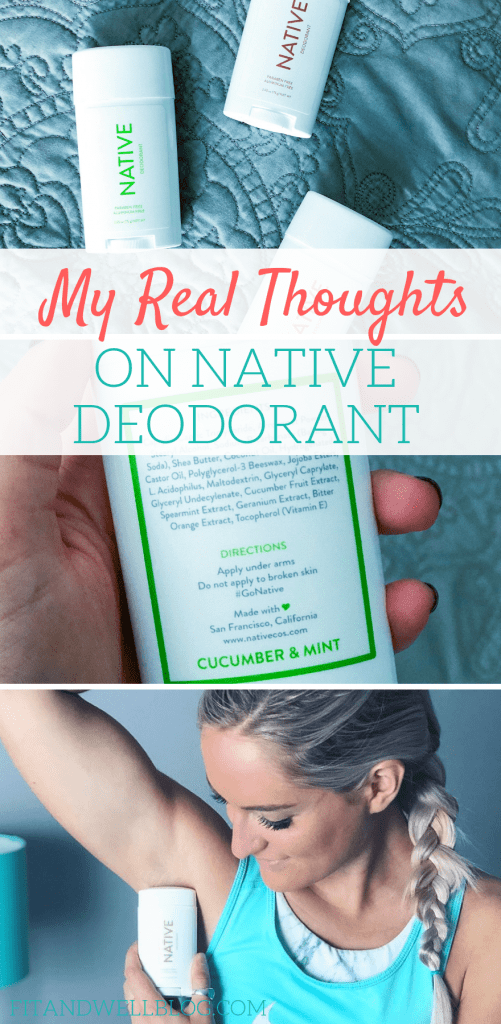 My real thoughts on Native deodorant. My Native deodorant review.