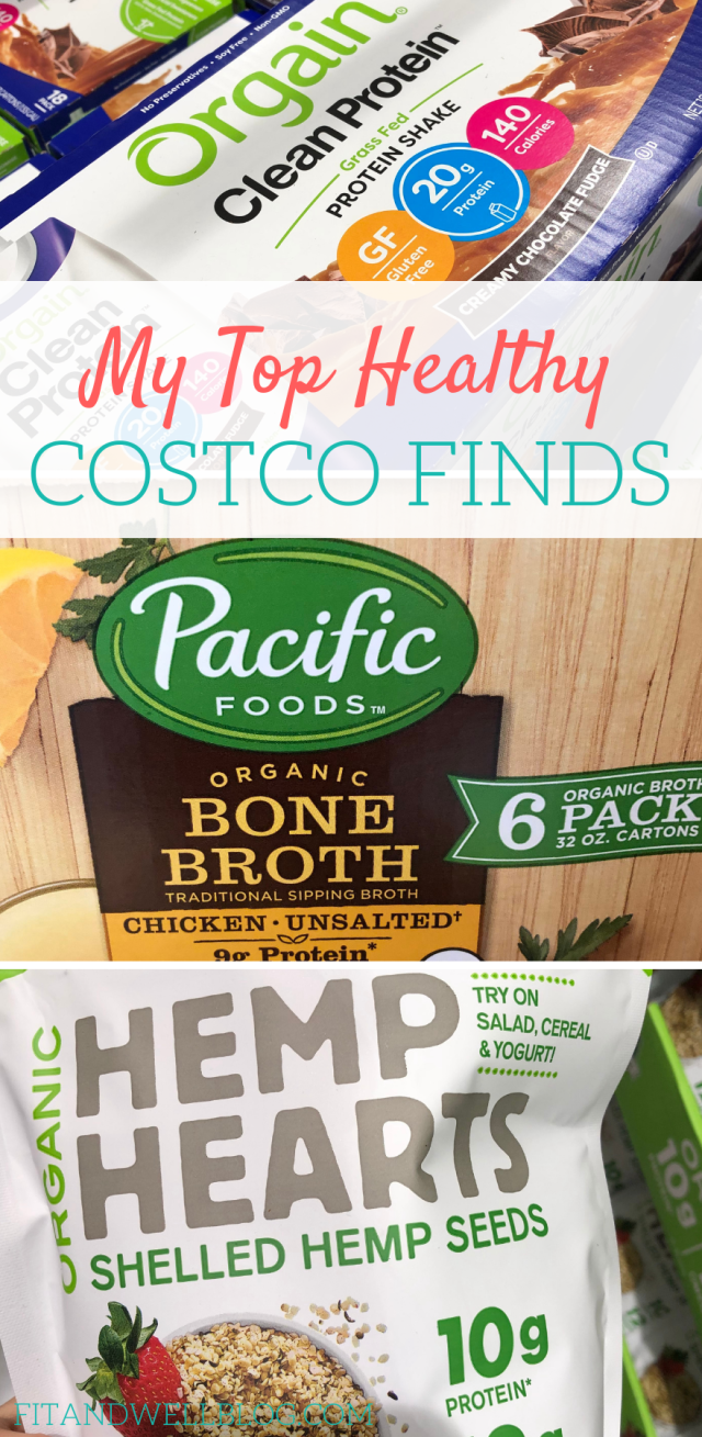 My top healthy Costco finds! These are some of my favorite healthy products at costco.